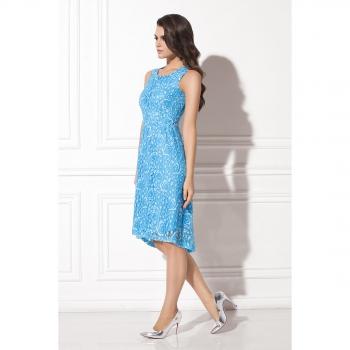 Платья голубого цвета каталог фото